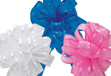 Nashville Wraps Sheer and Metallic Pull Bows