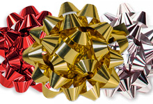 Nashville Wraps Metallic Confetti Bows
