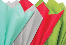 Nashville Wraps 100% Recycled Assorted Color Tissue Paper 20X26