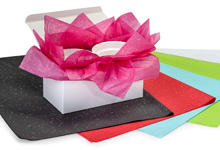 Nashville Wraps Gemstone Glitter Assorted Color Tissue Paper