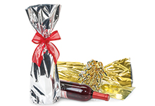 Nashville Wraps Metallic Mylar Wine Bottle Bags