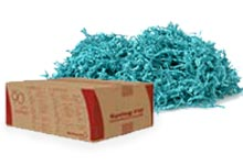 Crinkle Cut Paper Shred Basket//Package Grass Shredded 1 POUND!