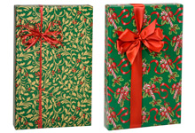 Nashville Wraps Shamrock Traditional Holiday Gift Wrap