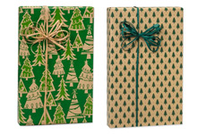 Nashville Wraps Holiday Kraft Wrapping Paper