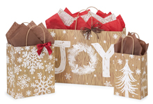 Nashville Wraps Rustic Christmas Joy Bags