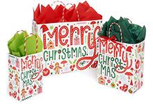 Nashville Wraps Woodland Santa Collection