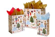 Nashville Wraps Golden Snowflakes Bags