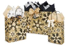 Nashville Wraps Peppermint Holiday Paper Shopping Bags
