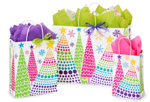 Nashville Wraps Bright Trees Gift Bags