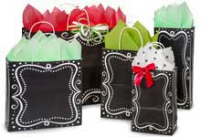 Hot Stamp Your Chalkboard Borders Bags
