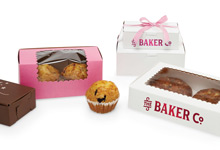 Nashville Wraps 1 Piece Gourmet Bakery Boxes