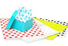 Nashville Wraps Polka Dot Print Tissue Paper