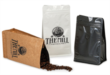 Nashville Wraps Coffee Bags with Degassing Valve