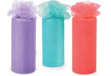 Nashville Wraps Glimmer Tulle Ribbon