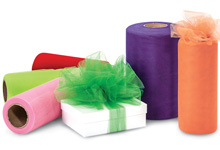 Nashville Wraps Color Tulle Ribbon Rolls