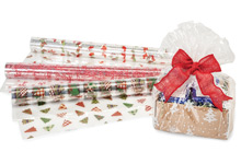 Nashville Wraps Christmas Print Cello Rolls