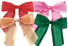 Nashville Wraps Pre-tied Sheer Gift Bows