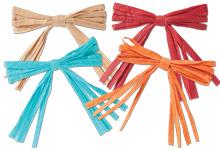 Nashville Wraps Pre-tied Raffia Gift Bows