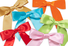 Nashville Wraps Pre-tied Satin Gift Bows