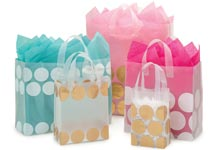 Hip Dots Plastic Gift Bags