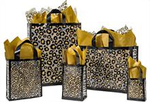 Nashville Wraps Leopard Safari Plastic Gift Bags