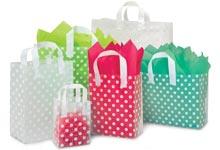 Nashville Wraps Polka Dot Plastic Gift Bags