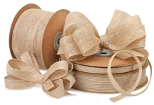 Nashville Wraps Wired Woodland Jute Ribbon