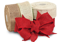 Nashville Wraps Wired Heavy Burlap Ribbon