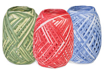 Nashville Wraps Two Tone Paper Raffia Ribbon
