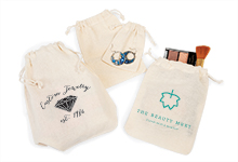 Nashville Wraps cotton drawstring bags