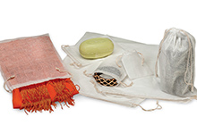 Nashville Wraps cotton muslin mesh bags