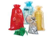 Nashville Wraps organza sheer drawstring gift bag pouches