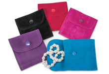 Nashville Wraps Snap Velvet Jewelry Bags