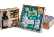 Square Gift Basket Market Trays