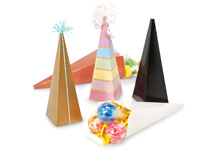 Nashville Wraps Cone Shaped Favor Boxes
