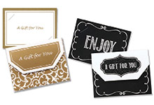 Nashville Wraps Gift Card Holders