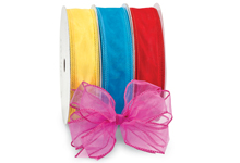 Nashville Wraps Wired Sensation Sheer Organza Ribbon