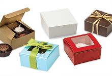Nashville Wraps Square Truffle Folding Boxes