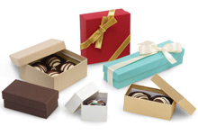 Rigid Truffle Candy Boxes