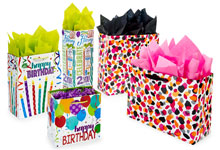 Nashville Wraps Printed Gift Bags for Christmas and All Occasions