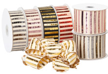 Nashville Wraps Picket Stripe Ribbon