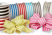 Nashville Wraps Cabana Stripes Ribbon