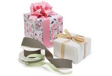 Nashville Wraps Striped Grosgrain Ribbon
