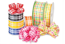 Nashville Wraps Plaid Ribbons